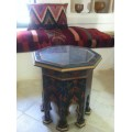 Table basse octagonale