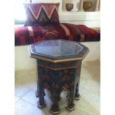 Table basse octagonale